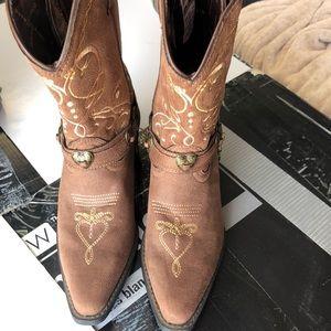 Durango girls sz 3 western boots